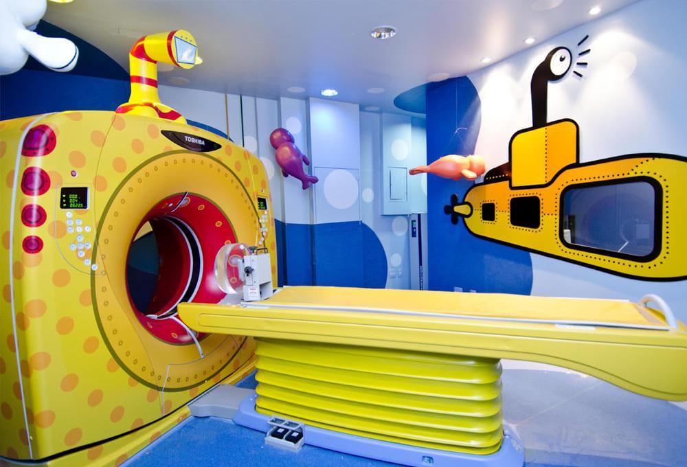 Детский аппарат для КТ